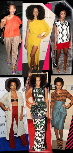 Love Solange's Funky Style