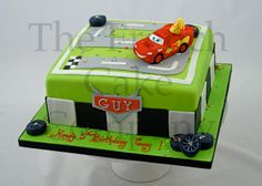 Cake for boys Cars - Gateau D'anniversaire Pour Enfants Garcon Cars - Verjaardagstaart