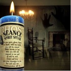 - Ghost Candle Seance to Communicate with Spirit Limited Edition Candle Magic, I Really Appreciate, Halloween Candles, Blue Candles, Get Educated, Burning Candle, Your Message, Crystal Ball, Spiritual Awakening