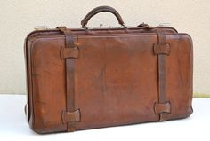 Vintage French Doctors Bag. Curated by Bloodworth Bellamy on Etsy