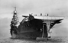 HMS Indomitable seen in April 1943.