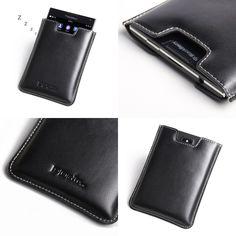 PDair BlackBerry Passport Leather Vertical Pouch Version.3
