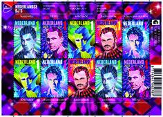 Nederland is al jarenlang toonaangevend op het gebied van dancemuziek. Reden voor PostNL om vijf Nederlandse dancehelden af te beelden op een postzegel. De wereldberoemde dj's Afrojack, Armin van B...