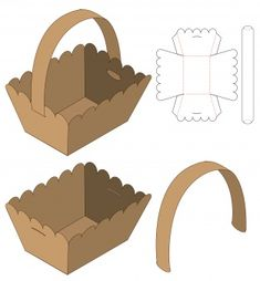 Box Packaging Die Cut Template Design Discover thousands of Premium vectors available in AI and EPS formats Diy Gift Box, Diy Box, Gift Boxes, Paper Box Template, Box Templates, Origami Templates, Cardboard Box Crafts, Foam Crafts, Box Patterns