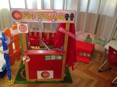 Fire station - roleplay area