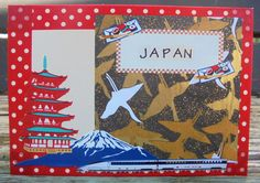 Japan, Awesome, Unique Jewelry, Handmade Gifts, Cards, Etsy, Vintage, Kid Craft Gifts, Craft Gifts