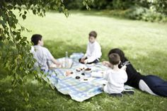 Happiness is.....having a family picnic! I remember lots of great ones, always with delicious homemade food prepared by Mom.