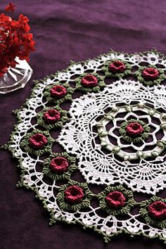 Ravelry: Project Gallery for Josephine Rose pattern by Kathryn White. //  GORGEOUS! A