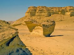 Trips to Wadi Hitan; Wadi Al-Hitan or The Valley of the whales is a desolate, dream like valley in Egypt's Western Desert some 150 km southwest of Cairo and 60 south of Wadi El-Rian in El-Fayoum oasis.  #Egypt #Fayoum #Whales #Trips #Tours