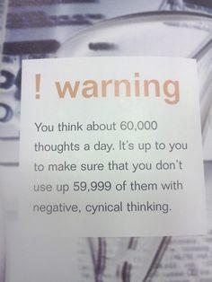#negativity