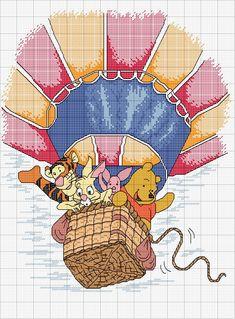 Punto croce - Winnie the Pooh & friends