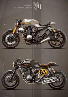 Racing Cafè: Cafè Racer Concepts - Honda CB 750 1992 by Holographic Hammer