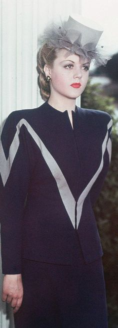 Holy crap, it's Angela Lansbury.  Isn't she beautiful?
