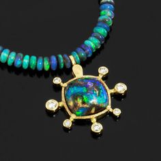 Alex Sepkus - opal and diamond necklace... Love, love, love this!!!!