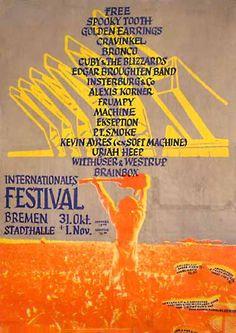 Rock Festival: Bremen 1970