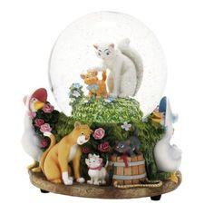 Disney Aristocats Snowglobe