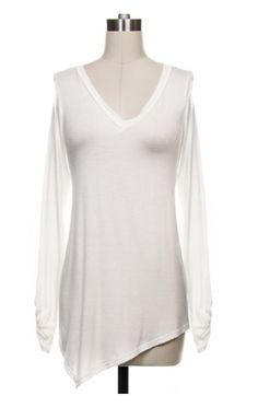 The Perfect White Tee-I have three different colors and LOVE them!