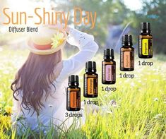 Dreaming of warmth and sunshine on this cold rainy day. #essentialoils #diffuserblend