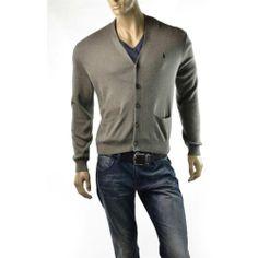 POLO Ralph Lauren Sweater Mens V Neck Pima Cotton Cardigan Shirt Size M $110 NEW | Get Dressed at ImageStudio714 http://stores.ebay.com/ImageStudio714 http://imagestudio714.com