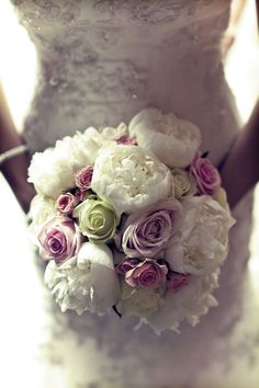 If I were to get married right now, these would be my colors. I may add a little light pink in there too. ;)