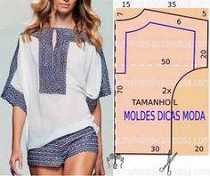 Простые выкройки женской одежды (из интернета) / Прочие виды рукоделия / Шитье