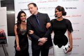Vanessa Hudgens Brendan Fraser Rosario Dawson at Gimme Shelter premiere
