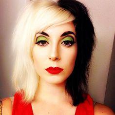 cruella de vil makeup - Google Search