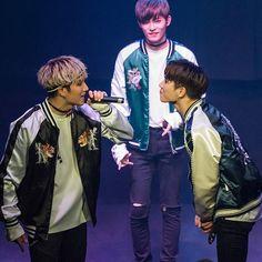 Look at them being adorable  #kissyface #cory #jeonguk #jinhong #24k #투포케이 #kineticvibe @24k_jeonguk @24k_coreeya @24k_jinhong0102