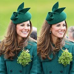 3/17/14 Kate & William attend the St. Patrick's Celebrations at Mons Barracks in Aldershot.