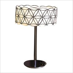 Savina Art Glass Table Lamp Viore Design
