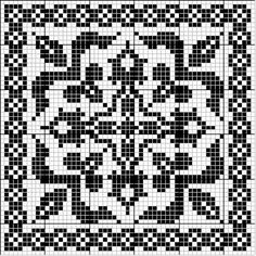 Inspirations Croche with Any Lucy: Square Cross Stitch Borders, Cross Stitch Charts, Cross Stitch Designs, Cross Stitching, Cross Stitch Embroidery, Cross Stitch Patterns, Filet Crochet Charts, Crochet Cross, Knitting Charts