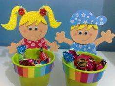 Resultado de imagen para bolsas en goma eva para niños