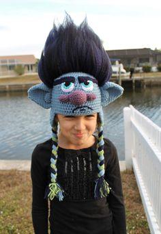 Trolls Movie Branch Crochet Pattern and von TOPstitchesCrochet