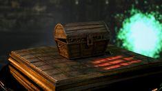 Presents Dark Souls - Mimic Chest Exclusive Companion Edition Statue. Dark Souls, Statue, Aliens, Behind The Scenes, Tube, Videos, Sculptures, Sculpture