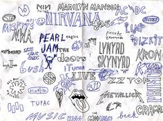 band logos from memory by phil elverum