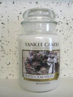 my fav :) Yankee Candle Scents, Yankee Candles, Scented Candles, Christmas Scents, My Christmas List, Room Freshener, Candle Accessories, Home Candles, Candels