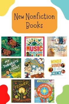 Check out our favorite new nonfiction books of the month for kids! These excellent titles will certainly be enjoyed by young readers who are looking to learn something new. Check out more book recs by clicking the link below! Library Lessons, Reading Skills, Stem Activities, Reading Comprehension, Nonfiction Books, Teacher Resources, Books To Read, Link, Check