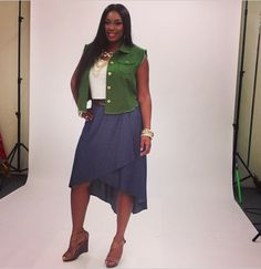 #BehindtheScenes today shooting new looks with #model @lirisc! #ashleystewart #plussize #fashion #bts