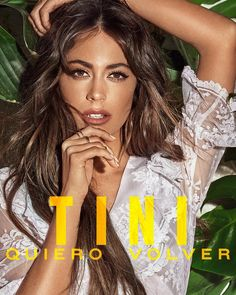 """""""Te Quiero Más"""" by TINI Nacho was added to my Discover Weekly playlist on Spotify Celebrity Singers, Celebrity Couples, Celebrity News, Bridgit Mendler, Disney Channel, Latin Music Artists, Camila Gallardo, Hollywood Records, Famous Singers"""