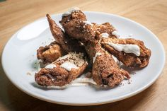 Chef Danny Bowien Shares Mole Chicken Wing Secret with Jimmy Fallon  - Foodista.com