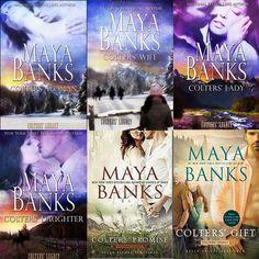 Românticos e Eróticos  Book: Maya Banks - O Legado dos Colters  #1 a #5
