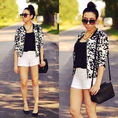 Pam S. - black&white jacket