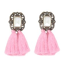 1,77€ - Brand New fashion jewelry hot sale women's crystal bib earring vintage tassel statement stud Earrings for women jewelry - https://www.youtube.com/watch?v=s1yzS0rk72w