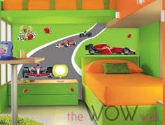 race car room decals - Google Search