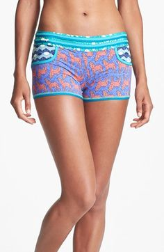 Maaji 'Blueberry Wolves' Shorts available at #Nordstrom