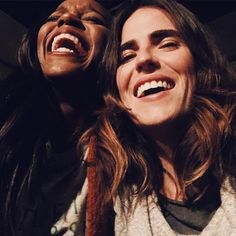 "147.9k Likes, 413 Comments - KARLA SOUZA (@karlasouza) on Instagram: ""Rare footage of Laurel and Michaela laughing """