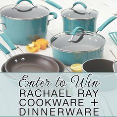 Last Weekend to Enter to Win a Rachael Ray Cookware + Dinnerware Set