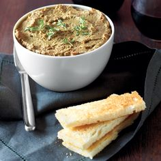 Reader Maya Parada in Brooklyn, New York, shares her secret for adding sweetness to this pate: grated carrot. Serve the pate as an appetizer, or spread on sandwiches for rich flavor.