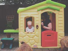 Little tikes playhouse wendy house Mummy & Harrison.: Life #004  | Fashion and Lifestyle blogger.