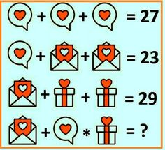 Solve the love logic puzzle